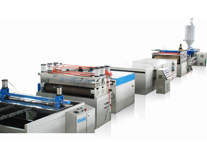 Pc/pmma optical sheet production line